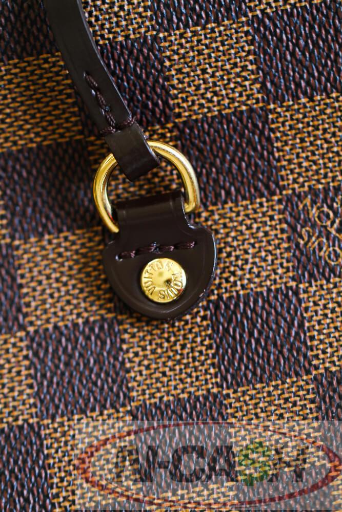 Authentic Louis Vuitton Neverfull Damier Ebene MM 2011 | N ...