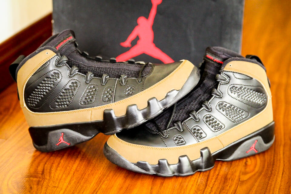 b8a588b9a9f5c6 Air Jordan 9 Retro Olive for Sale